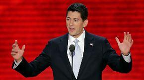 Der Vorzeige-Amerikaner: Republikaner feiern Rockstar Ryan