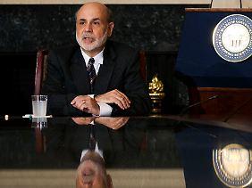 """""""Es ist aber nötig, dass wir weitere Fortschritte erreichen, besonders am Arbeitsmarkt"""": Ben Bernanke schließt zunächst einmal nichts aus"""