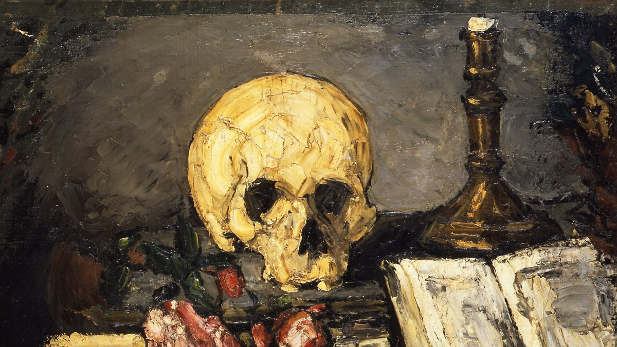 Von Caravaggio bis Hirst in Paris: Totenköpfe feiern