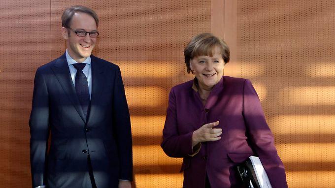Seit 2006 arbeiten Merkel und Weidmann eng zusammen.