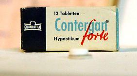 Das Schlafmittel Contergan verursachte Missbildungen bei Tausenden Ungeborenen.