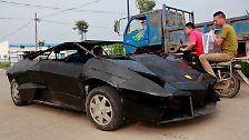Träume Marke Eigenbau: Schrott-Lamborghini aus China