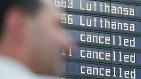 Streik bei der Lufthansa: Chaotische Zustände bleiben aus