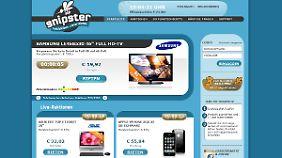 55,84 Euro fürs 800 Euro teure iPhone 3GS und nur noch 15 Sekunden Zeit! Nur blöd, dass der Countdown immer wieder neu startet.