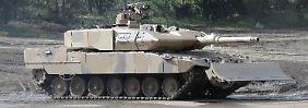 Panzer vom Typ Leopard: Israel will mitreden, wenn Deutschland Kriegsgerät verkauft.