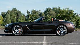 Die Preise für den AMG-Roadster starten bei 195.160 Euro.