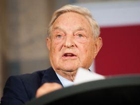 """""""Die Tragödie der Europäischen Union"""": George Soros spricht in Berlin."""