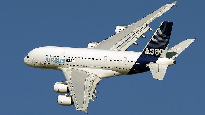 Airbus-Kunden zögern: Haarrisse gefährden A380-Auslieferung