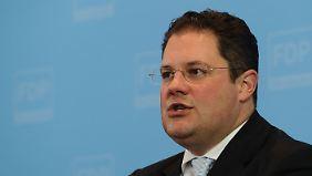 Generalsekretär Döring wies die Vorwürfe gegen seine Partei zurück.