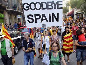 Sie wollen raus aus Spanien.