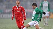 Viertelfinale im DFB-Pokal: Viel Kampf, viele Tore, eine Blamage