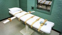 In South Dakota wurde seit fünf Jahren kein Todesurteil vollstreckt.