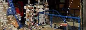 Kontrollierte Sprengung in Viersen: Bombe verwüstet Straßenzug