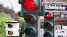 Die Ampel war doch gelb: Lässt die Blitzanlage Zweifel zu?