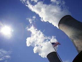 Dampf und Problemmüll statt Kohlendioxid: Kraftwerk Limerick in Pottstown, Pennsylvania.