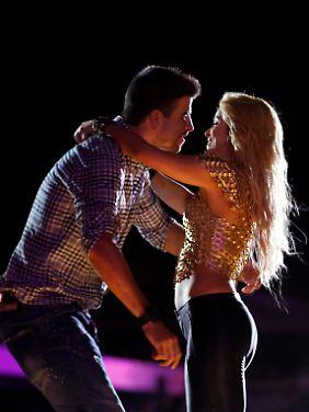 Mit ihrem Ex hat Shakira derzeit Ärger, aber mit Gerard ist alles eitel Sonnenschein.