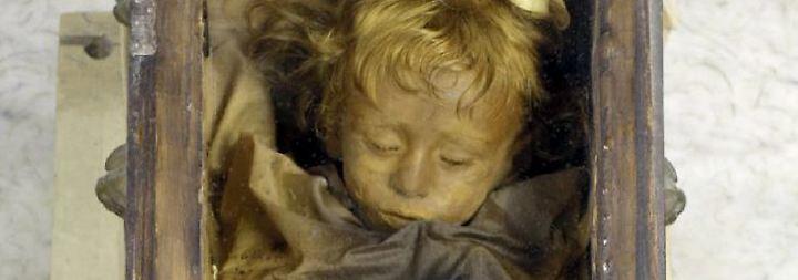 Konservierte Leichen: Mumien: Körper trotzen dem Verfall