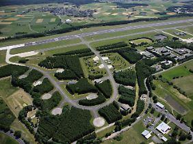 Der Luftwaffenstützpunkt Büchel - hier lagern wohl US-Atomwaffen.