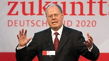"""SPD für """"Mr. Klartext"""": Steinbrück fordert Merkel heraus"""