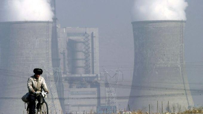 China ist der zweitgrößte Kohlendioxidproduzent, die Treibhausgase stammen unter anderem aus Kohlekraftwerken.