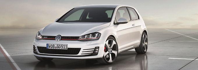 VW zeigt in paris eine Studie des neuen Golf.