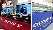 Sony hat das Rennen bei Olympus gemacht.
