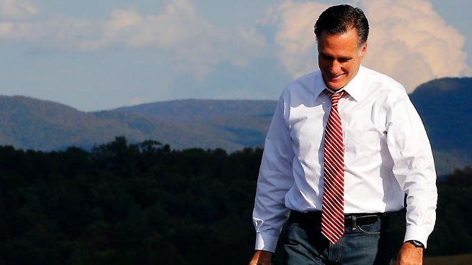 Mitt Romney muss zähneknirschend seinen Fehler eingestehen
