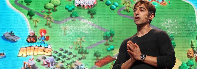 Zynga-Gründer und Firmenchef Mark Pincus.