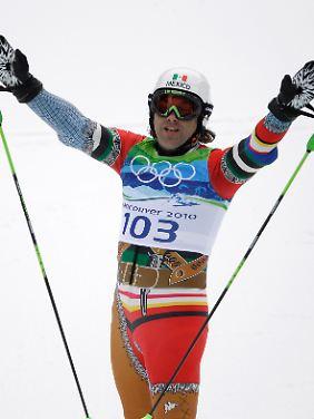 Mit 51 Jahren der älteste Olympia-Teilnehmer: Hubertus von Hohenlohe.