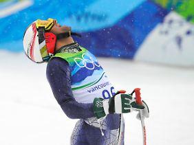 Der erste Pakistaner bei Winterspielen: Muhammad Abbas.