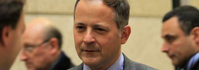 EZB-Direktoriumsmitglied Benoit Coeure.