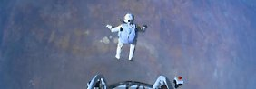 Der Sturz in die Tiefe: 39 Kilometer vom Rand des Weltalls zurück zur Erde.