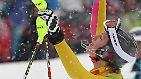 Sie hat es geschafft. Maria Riesch hat zum zweiten Mal bei diesen Winterspielen Gold gewonnen.