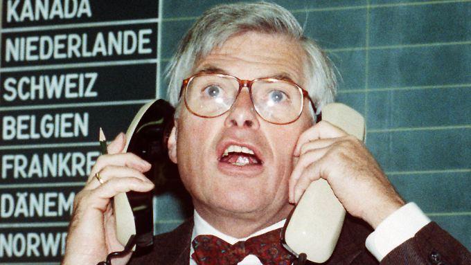 """Börsencrash vor 25 Jahren: """"Schwarzer Montag"""" erschüttert Weltbörsen"""
