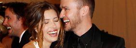 Seit fünf Jahren ein glückliches Paar: Jessica Biel und Justin Timberlake.