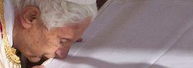 Der Papst würdigt die neuen Heiligen.