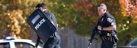 Spezialkräfte suchten nach dem Schützen.