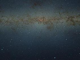 Das Bild der ESO ist neun Gigapixel groß. In einer im Buchdruck üblichen Auflösung wäre die Aufnahme neun Meter lang und sieben Meter hoch.