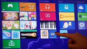 Benutzeroberfläche mit Kacheln: Was kann Windows 8?