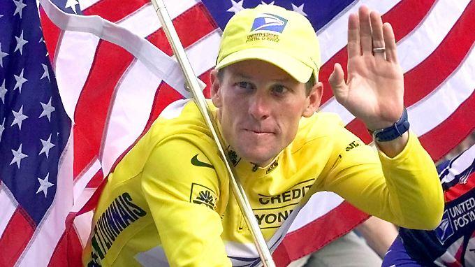 Er war nicht alleine:  Lance Armstrong.