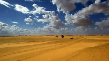 Viel Platz, reichlich Sonne: Die Sahara soll Europas Steckdose werden.
