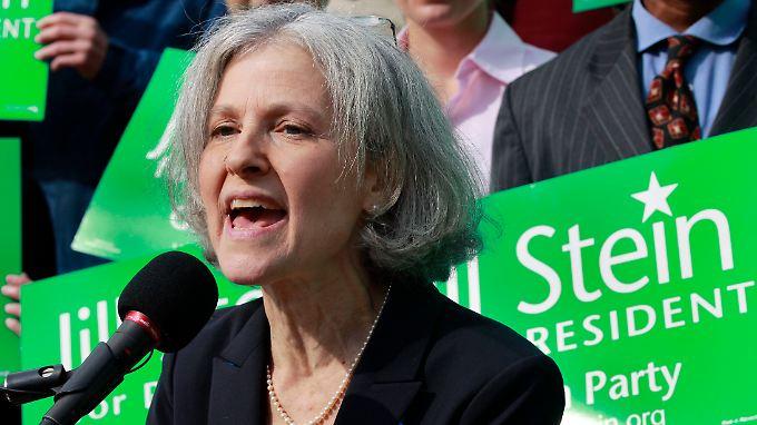 Alternative neben Obama und Romney: Jill Stein von den Grünen.