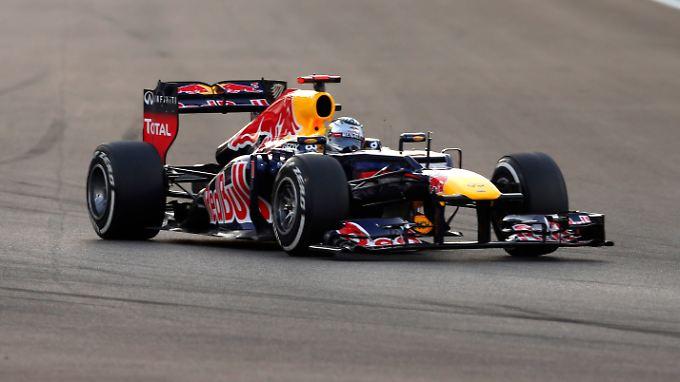 Sebastian Vettel machte aus dem schlechtesten Startplatz noch das Bestmögliche.