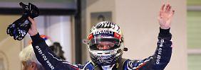 Grandiose Aufholjagd in Abu Dhabi: Vettel verteidigt WM-Führung