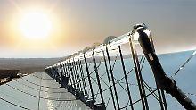 Windkraft, Photovoltaik und Solarthermie: Die Kosten für die Anlagen sind beherrschbar. Nur die Anbindung geht ins Geld.