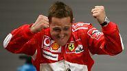 20-jähriges Dienstjubiläum in Spa: Für Schumacher schließt sich der Kreis