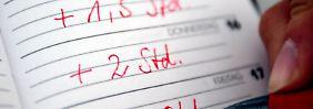 Arbeitnehmer in der Pflicht: Überstunden benötigen Beweise