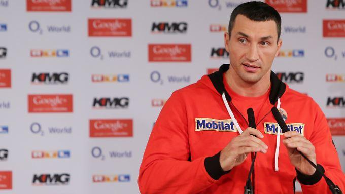 """""""Das Gefühl kommt mir ziemlich bekannt vor"""": Wladimir Klitschko."""