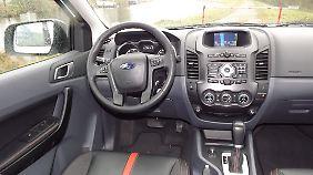 Der Innenraum ist aufgeräumt. Regler und Schalter befinden sich am rechten Fleck.