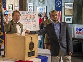Wahl in Dixville Notch. Anders als 2008 gewann Obama in diesem Jahr nicht.